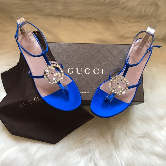 b824c4d72 Gucci Shoes | New Authentic Gg Swarovski Crystal Sandals | Poshmark
